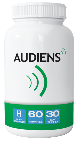 Audiens - The Tinnitus Pill Bottle Image