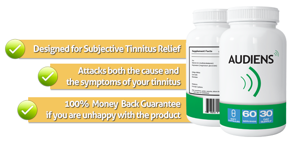 The Tinnitus Pill Bottle Image
